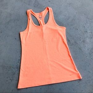 •new• Nike Neon Orange Razor Back Dri-Fit Tank Top
